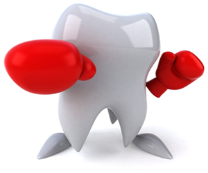 fighting cavities and gum disease
