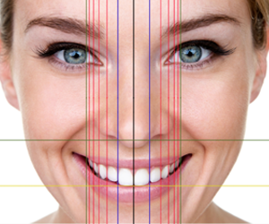 Golden proportion in smile design